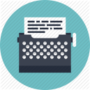 6_typewriter_scenario_game_design_flat_icon-512