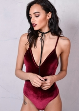 velvet-plush-v-neck-bodysuit-burgundy-red-echo-11